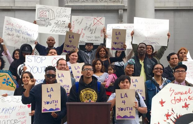 LA for Youth Press Conference at LA City Hall