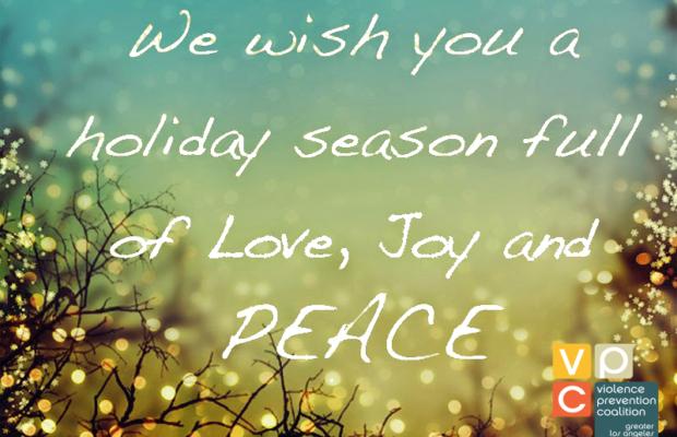 Wishing you LOVE, JOY and PEACE